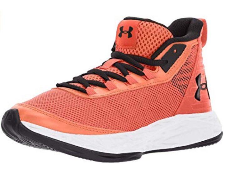 Grade school basketball shoes