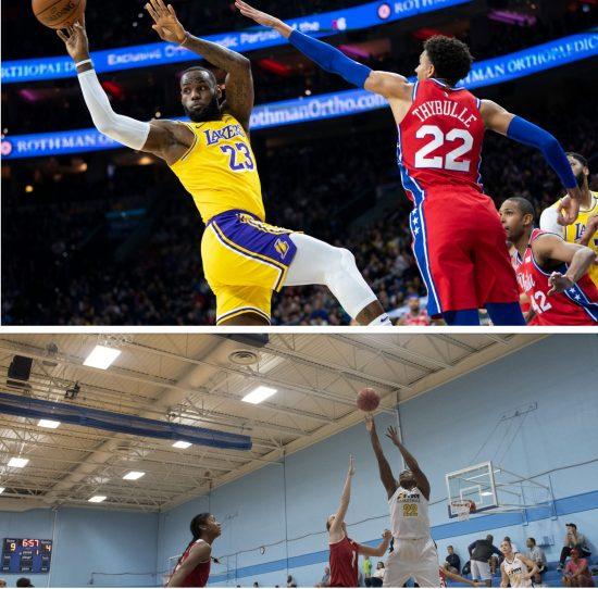 Basketball Defense Drill